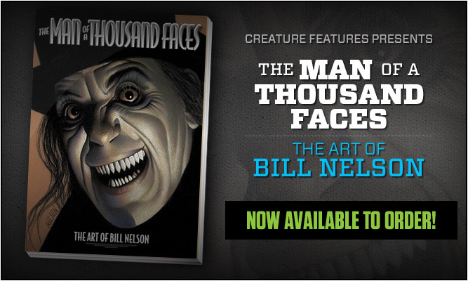 The Man of a Thousand Faces - The Art of Bill Nelson
