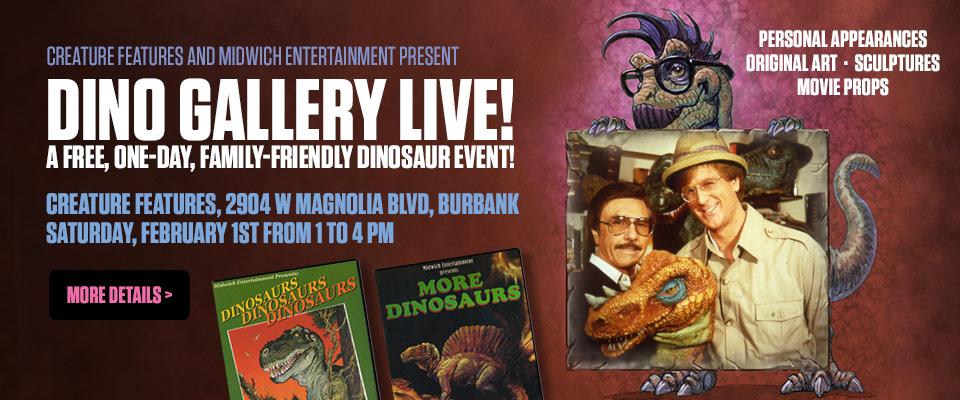 Dino Gallery LIVE!