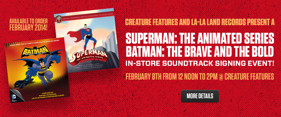 Superman/Batman Soundtrack Signing Event!
